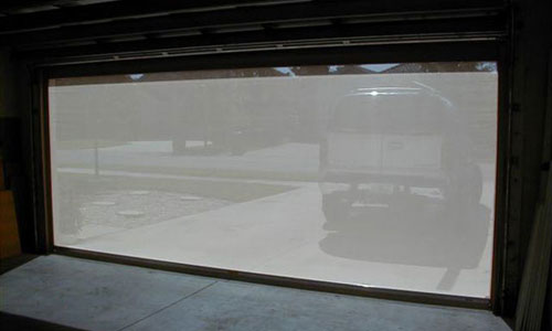 Garage Door Screen Installation Project Spectre Of Naples